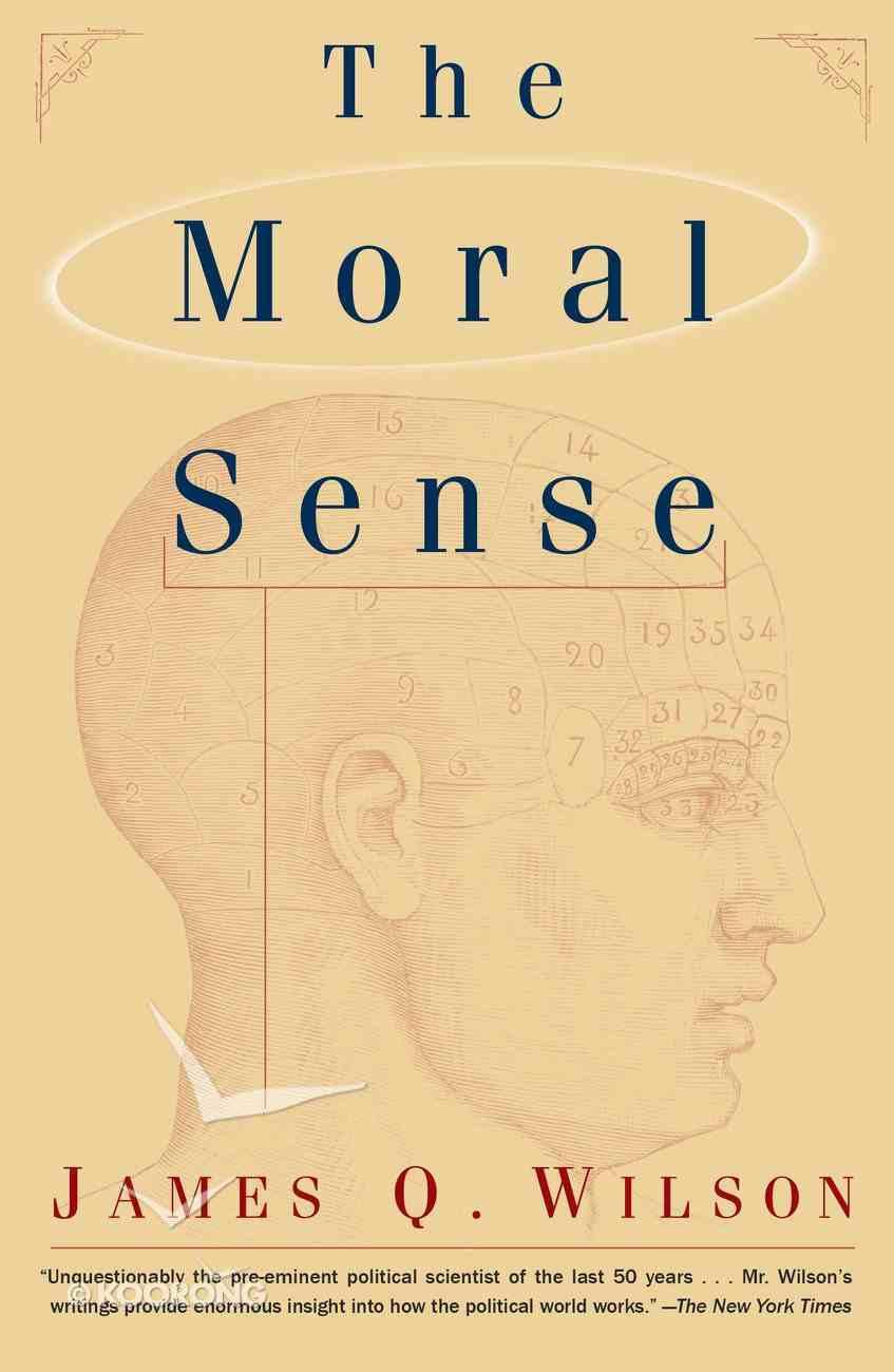 The Moral Sense eBook