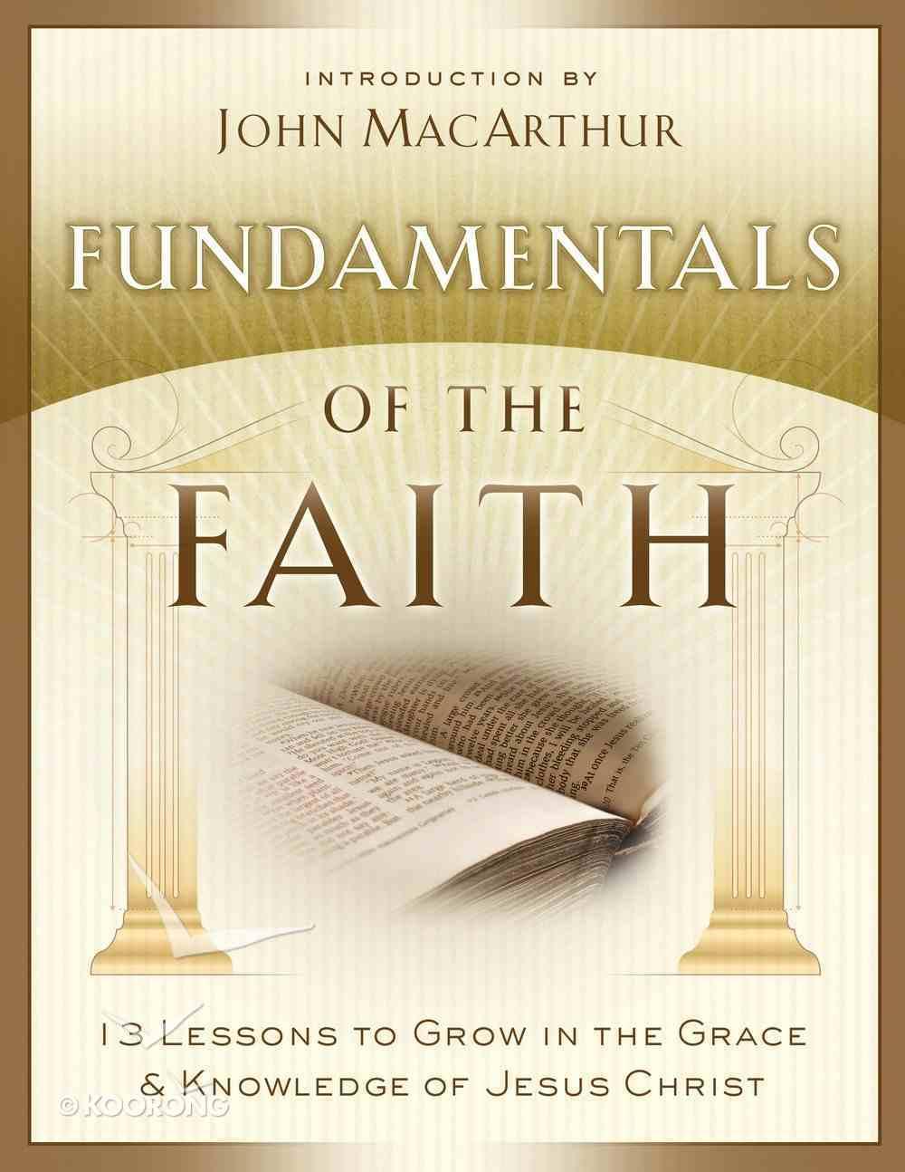 Fundamentals of the Faith eBook