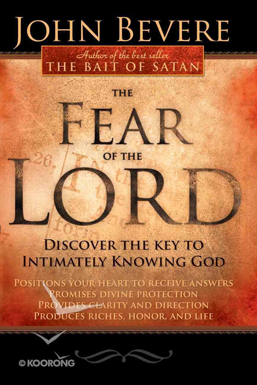 The Fear of the Lord eBook