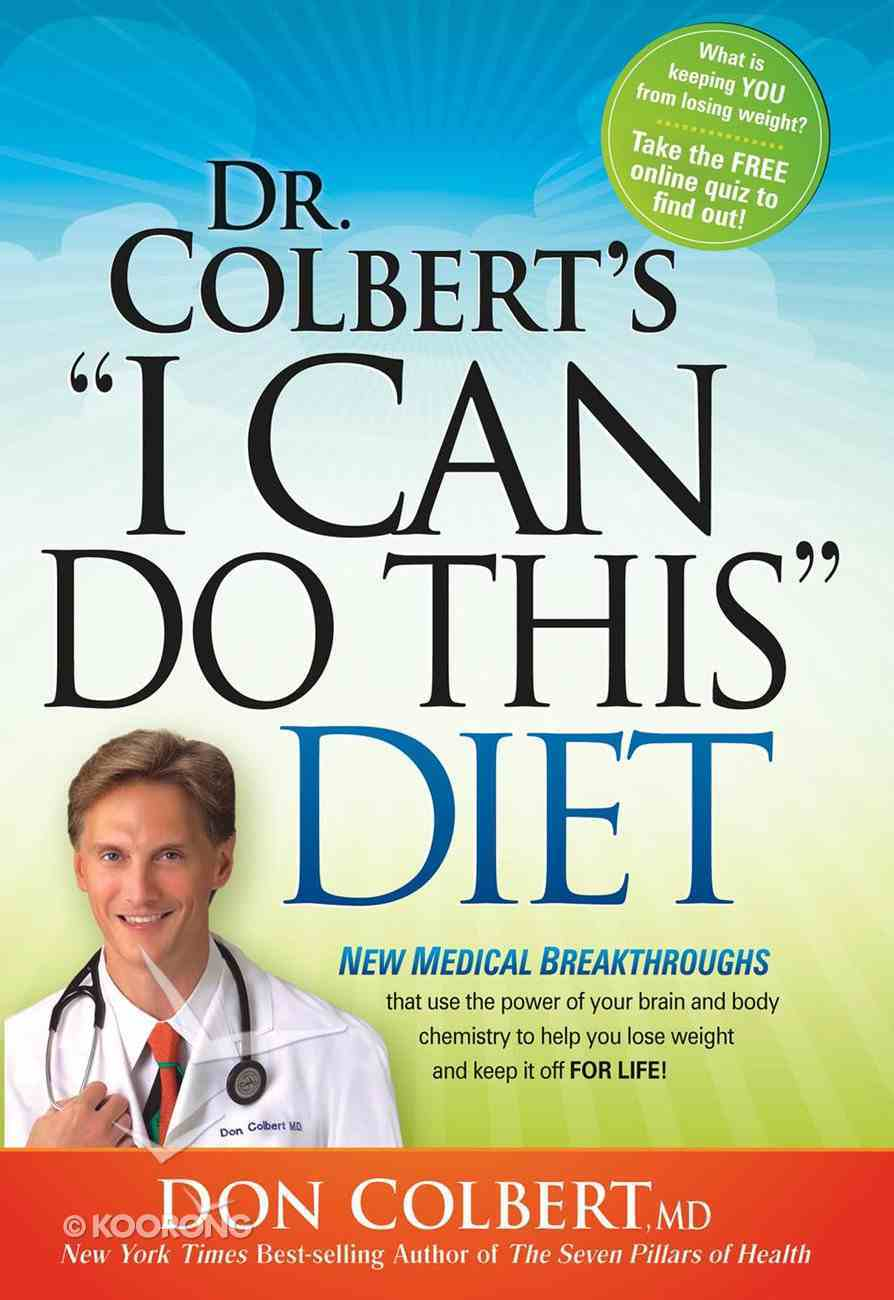 """Dr Colberts, """"I Can Do This"""" Diet eBook"""