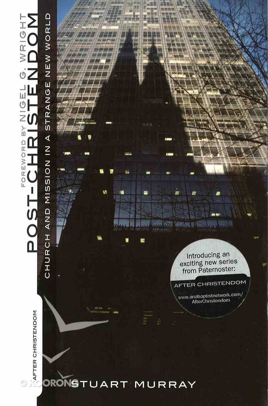 Post-Christendom (After-christendom Series) eBook