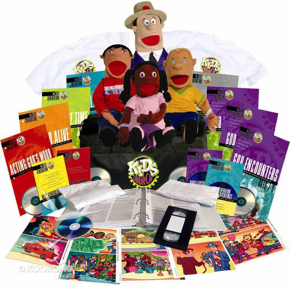 Kids Church: Who's Who Super Kit (Next Generation Series) Pack