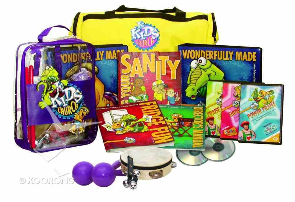 Jnr Kids Church: Wonderfully Made Deluxe Kit (Next Generation Series) Pack