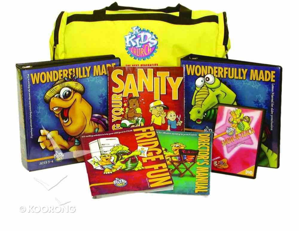 Jnr Kids Church: Wonderfully Made Basic Kit Ages 4-6 (Next Generation Series) Pack