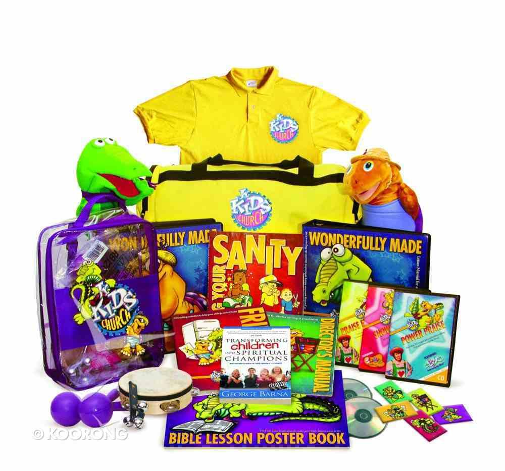 Jnr Kids Church: Wonderfully Made Ultimate Kit (Next Generation Series) Pack