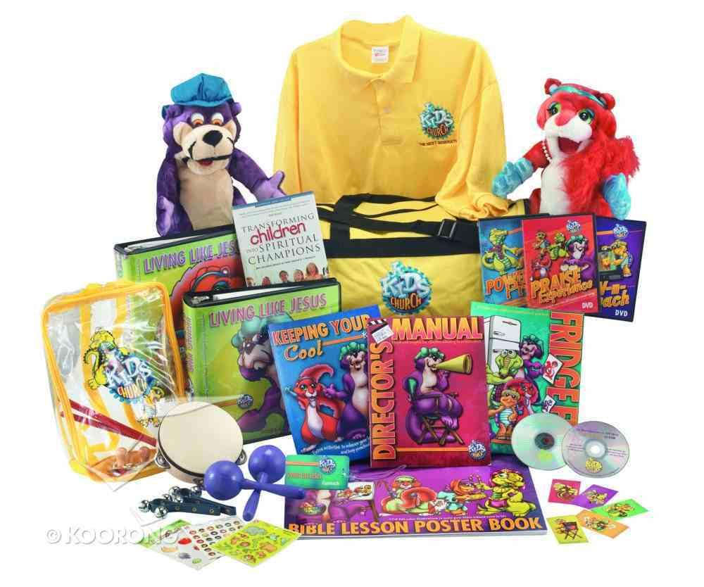 Jnr Kids Church: Living Like Jesus Ultimate Kit (Next Generation Series) Pack