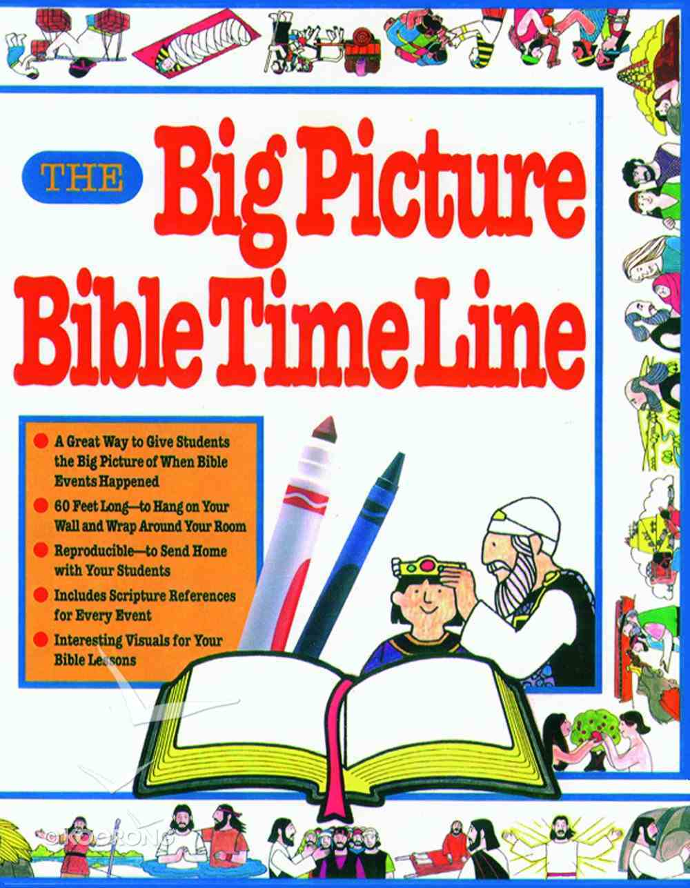 The Big Picture Bible Time Line Paperback