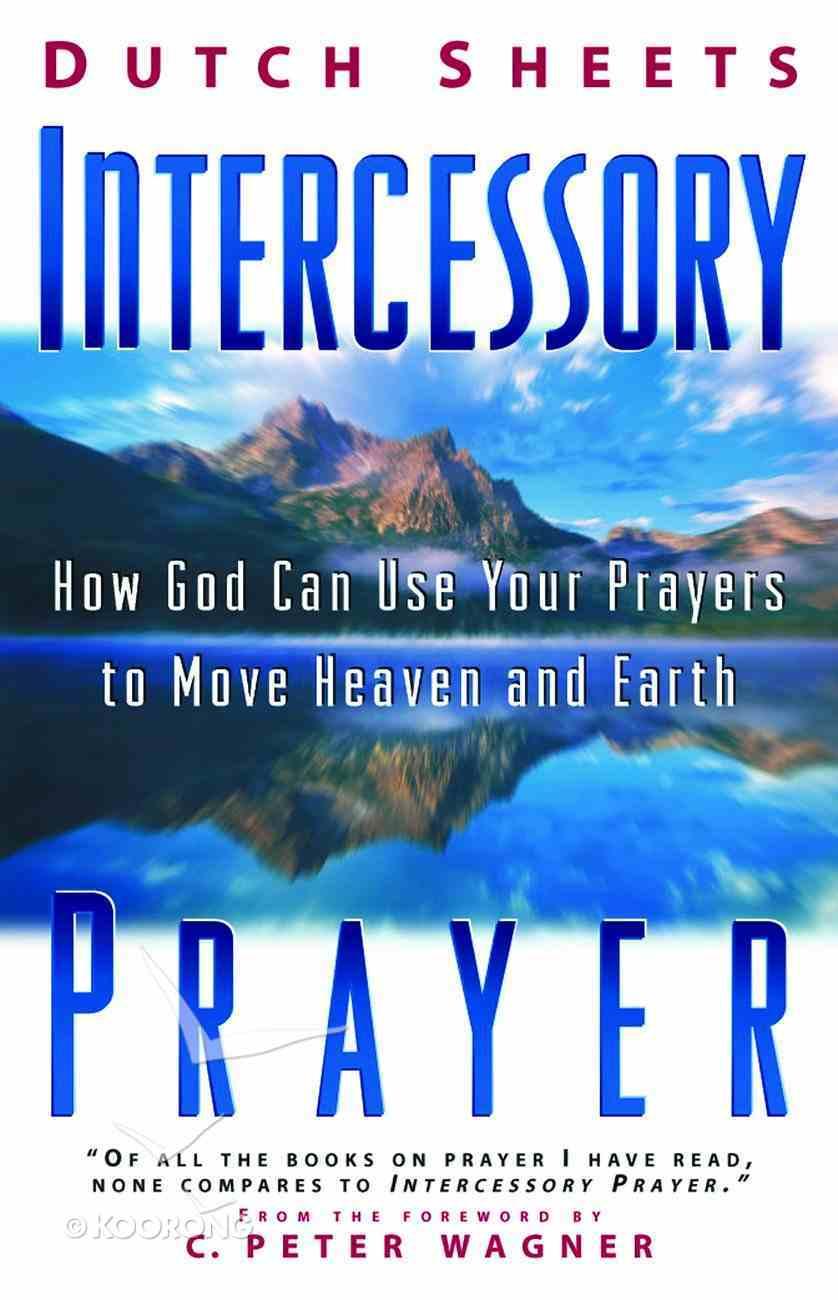 Intercessory Prayer Paperback