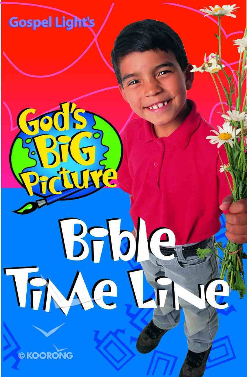 God's Big Picture Bible Time Line Paperback
