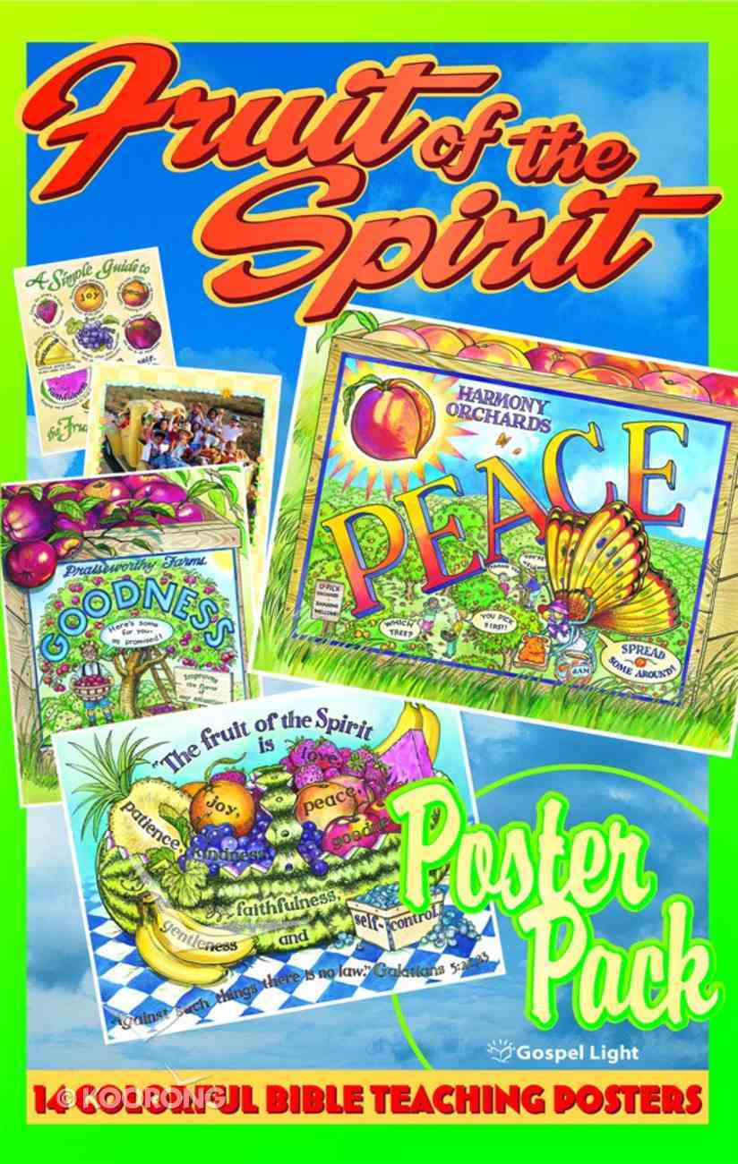 Kids Time: God's Kids Grow Poster Pack (Gospel Light Kids Time Series) Paperback