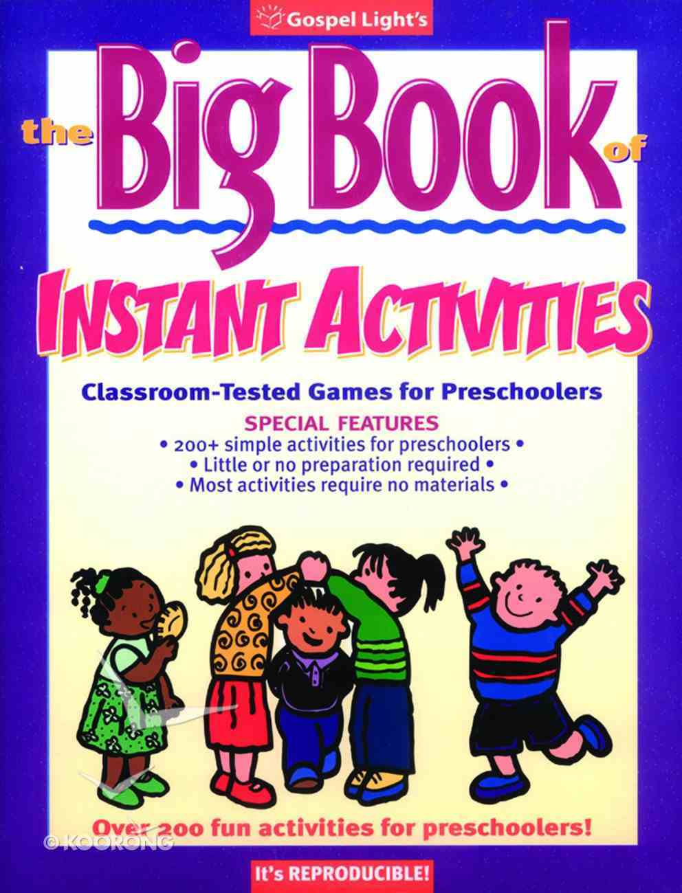 The Big Book of Instant Activities Paperback