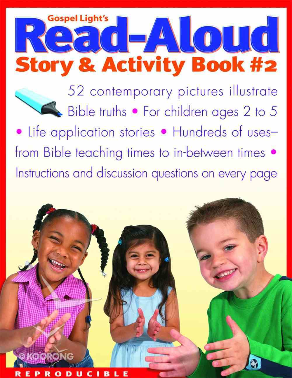 Read-Aloud Story and Activity Book #2 Paperback