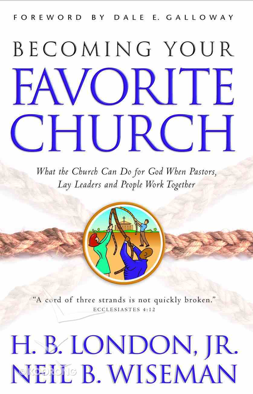 Becoming Your Favorite Church Paperback