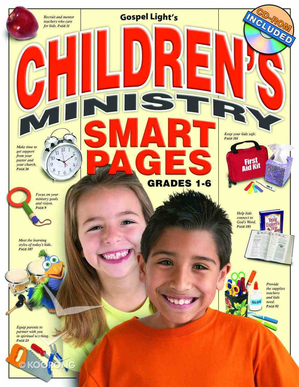 Children's Ministry Smart Pages (Reproducible) Paperback