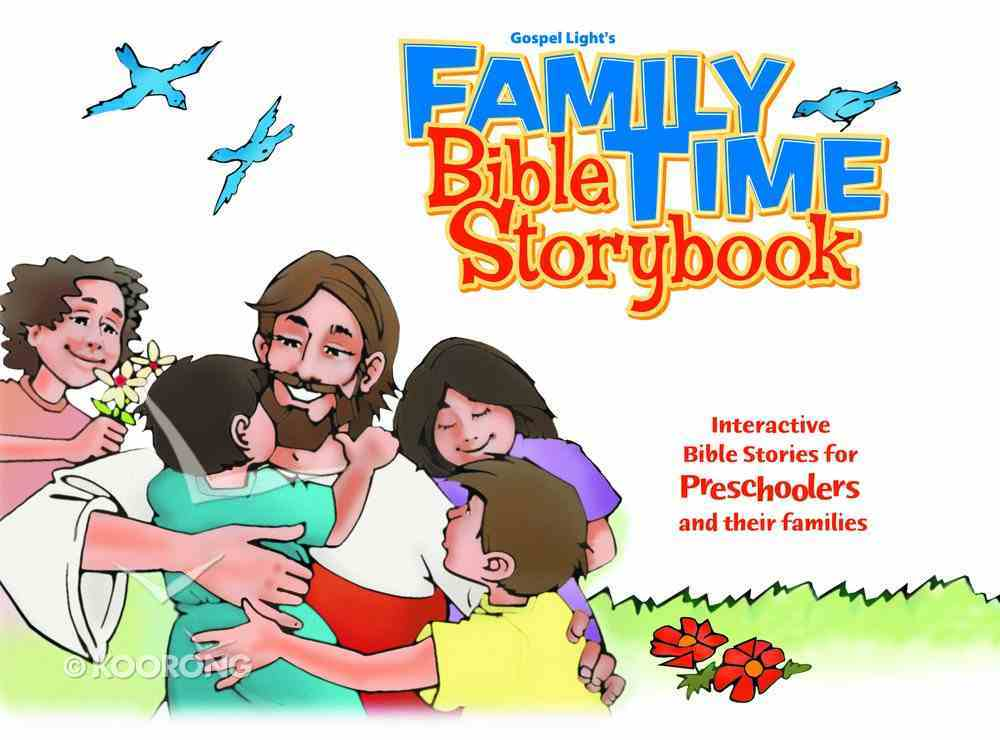Family Time Bible Storybook Hardback