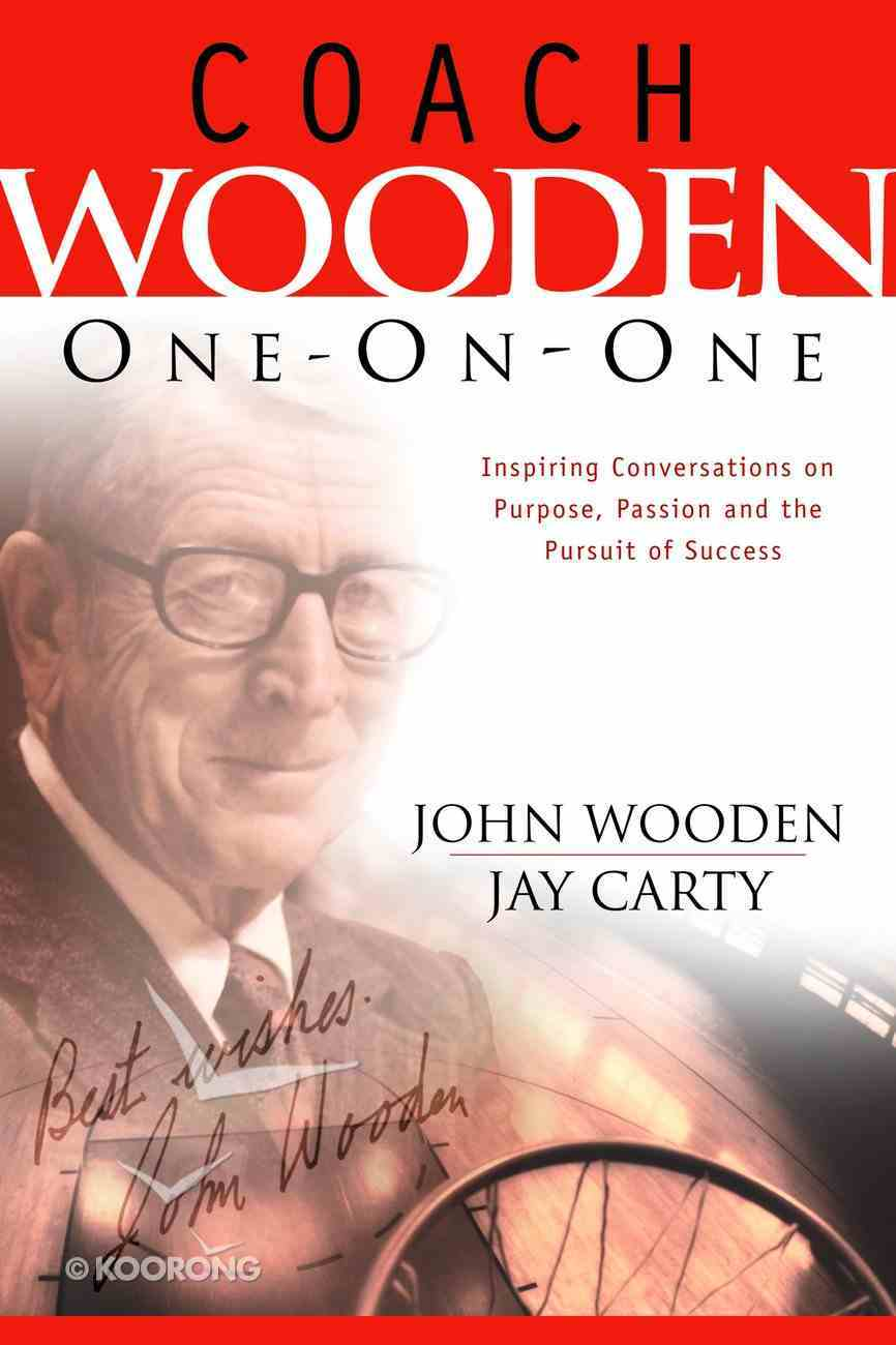 Coach Wooden One-On-One Hardback