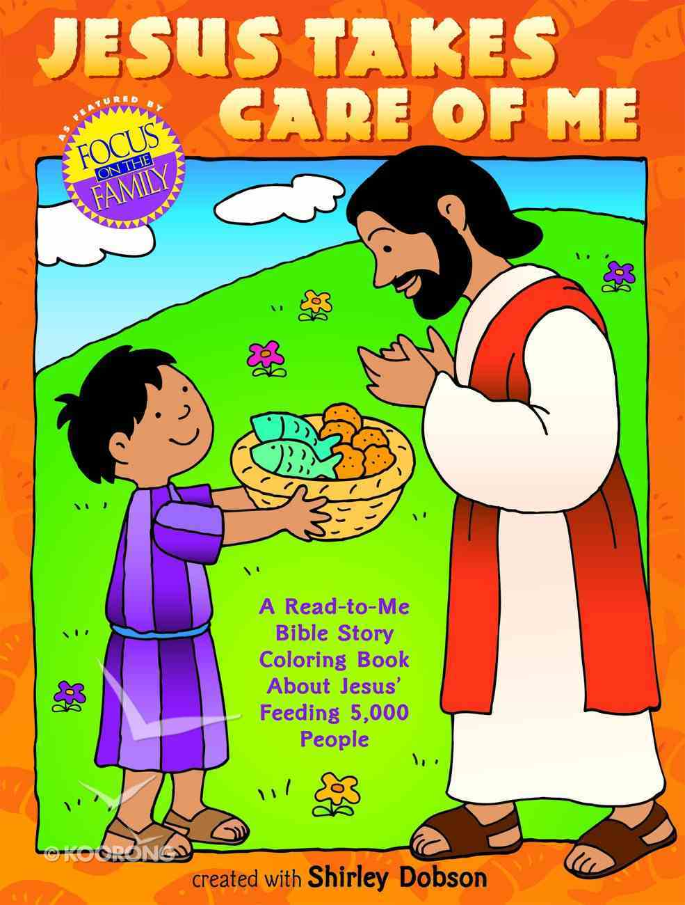 Colouring Book: Jesus Takes Care of Me (Shirley Dobson Colouring Books Series) Paperback