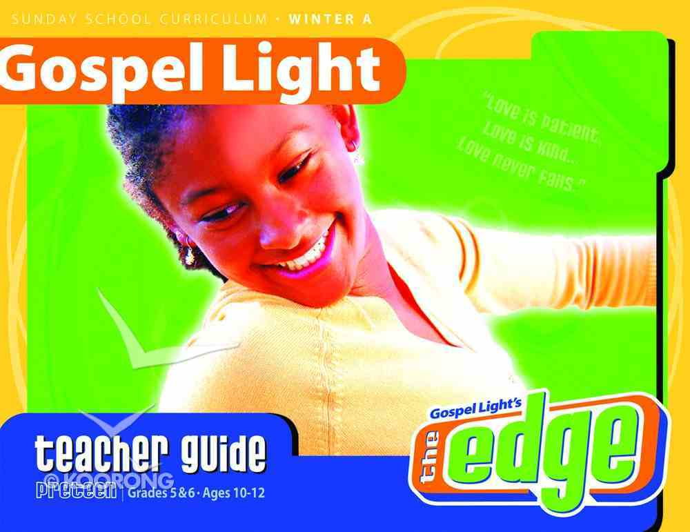 Gllw Wintera 2020 Grades 5 & 6 Teacher's Guide (Gospel Light Living Word Series) Paperback