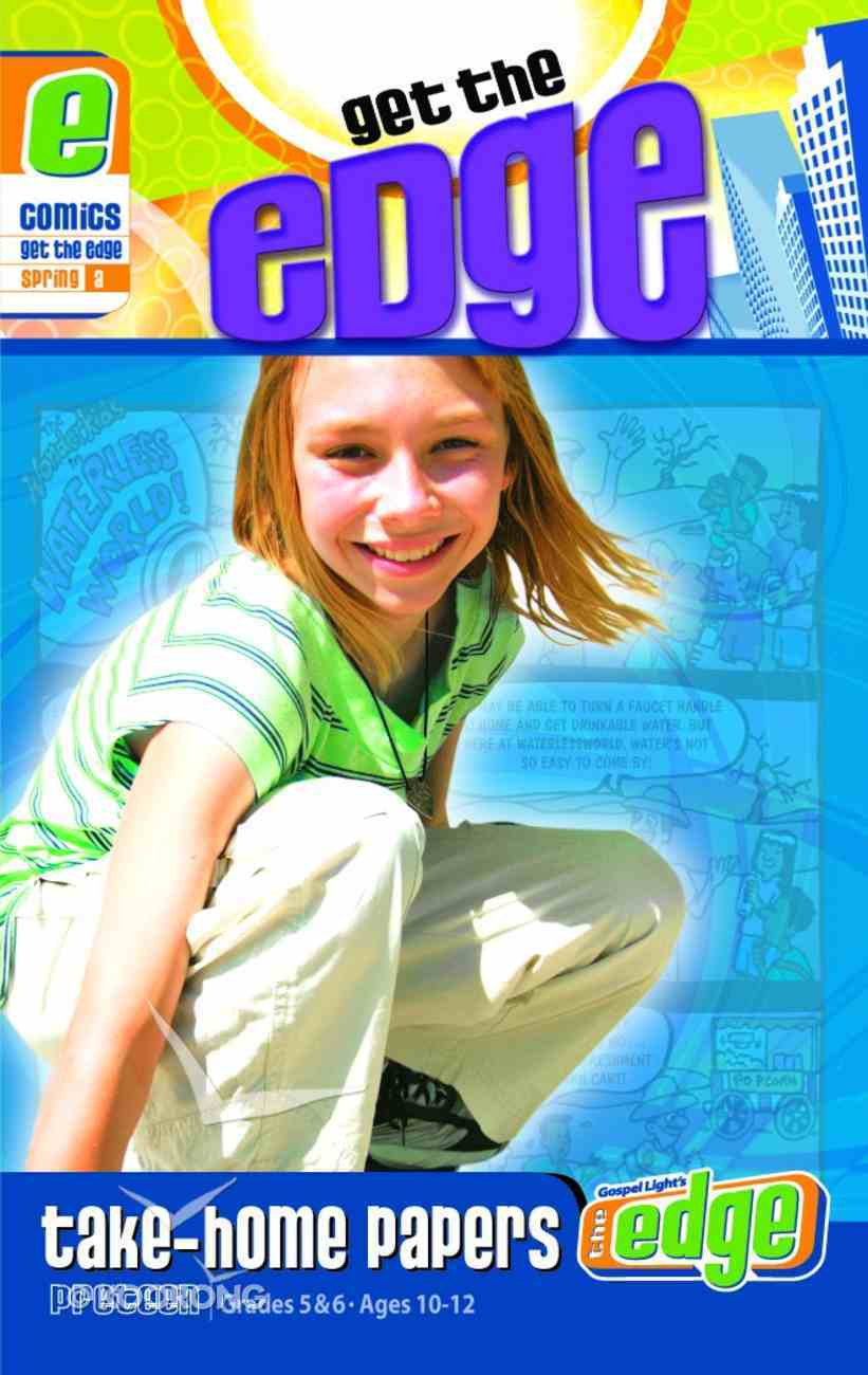 Gllw Spring a 2020 Grades 5&6 Get the Edge Comics (Gospel Light Living Word Series) Paperback