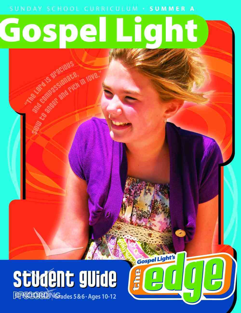 Gllw Summera 2020/2021 Grades 5&6 Ages 10-12 (Student Guide) (Gospel Light Living Word Series) Paperback
