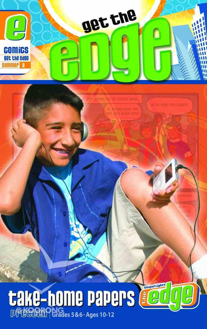 Gllw Summer 2020/2021 Year a Grades 5&6 Ages 10-12 (Comics) (Gospel Light Living Word Series) Pack