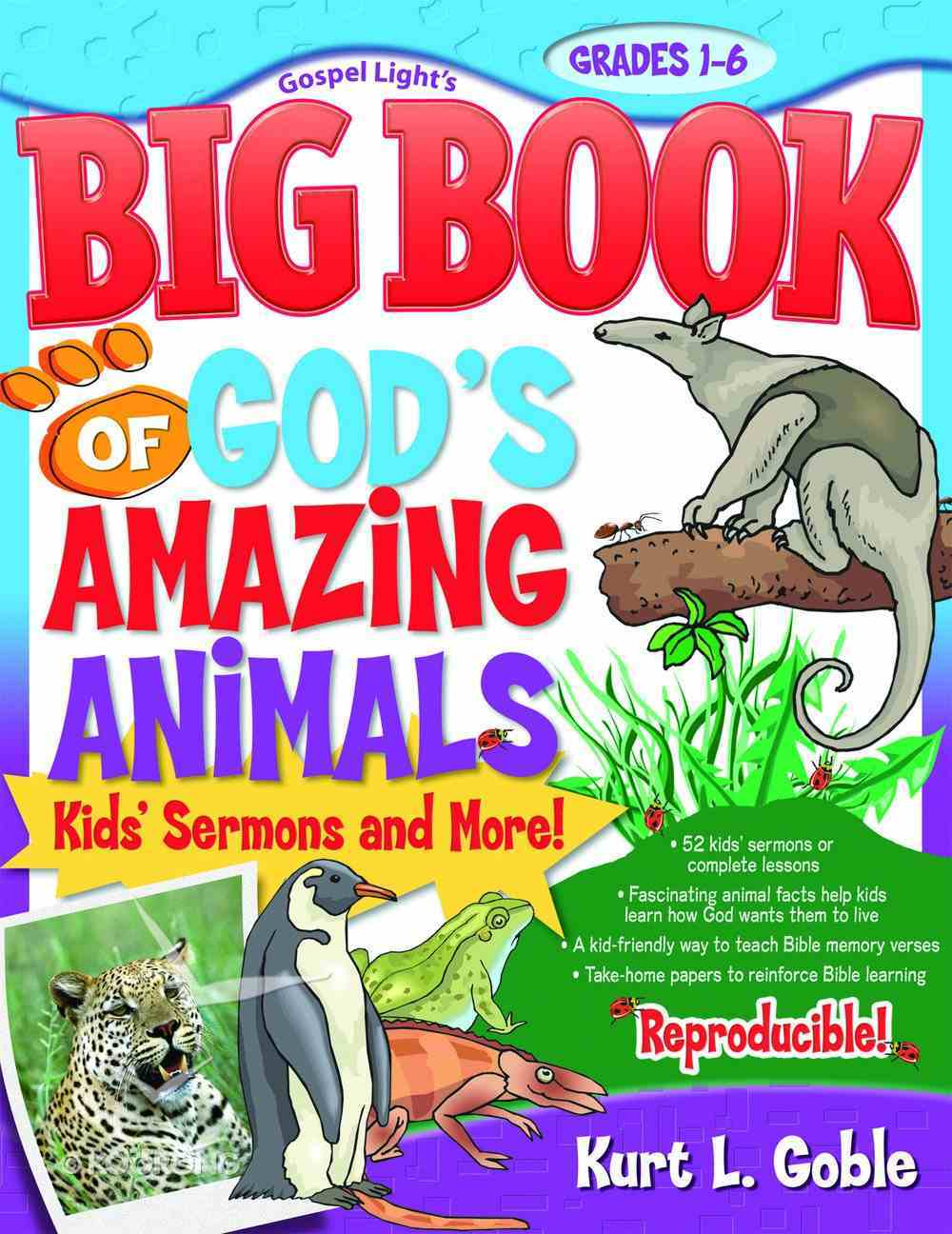 Big Book of God's Amazing Animals Paperback