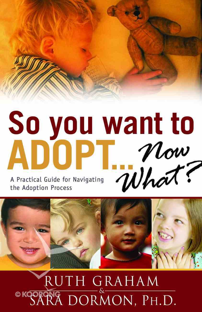 So You Want to Adopt Now What? Paperback