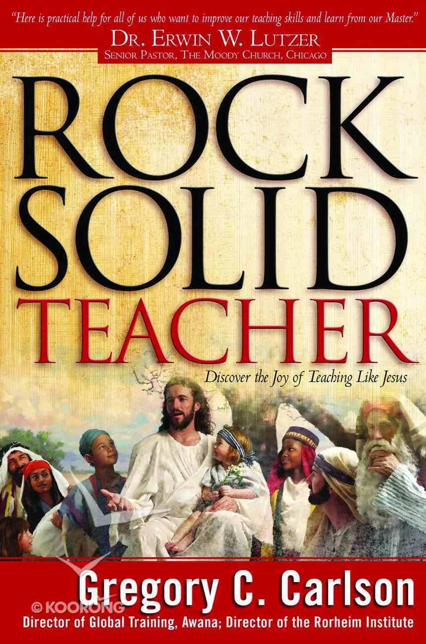 Rock Solid Teacher Hardback