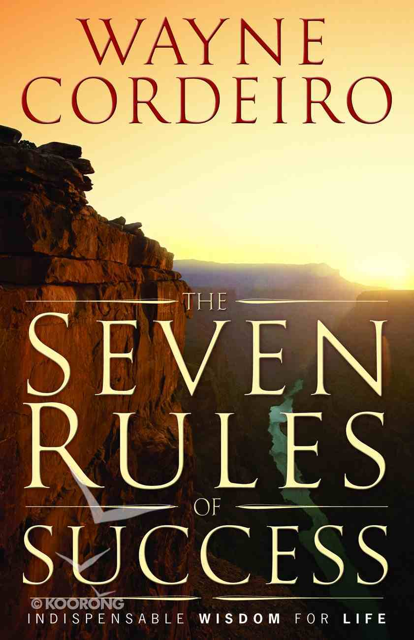 The Seven Rules of Success Hardback