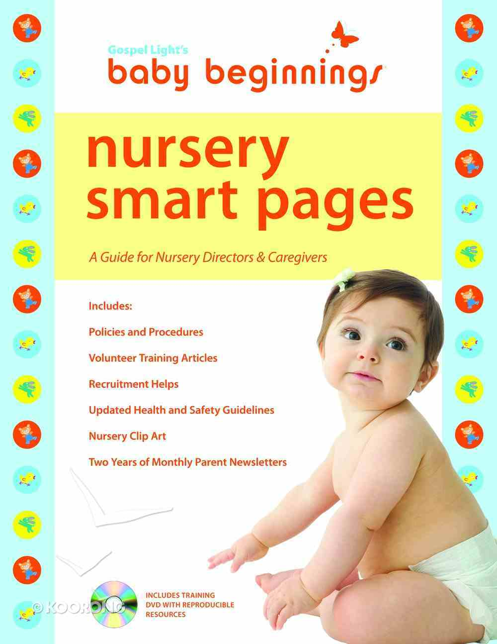 Baby Beginnings: Nursery Smart Pages With DVD Paperback