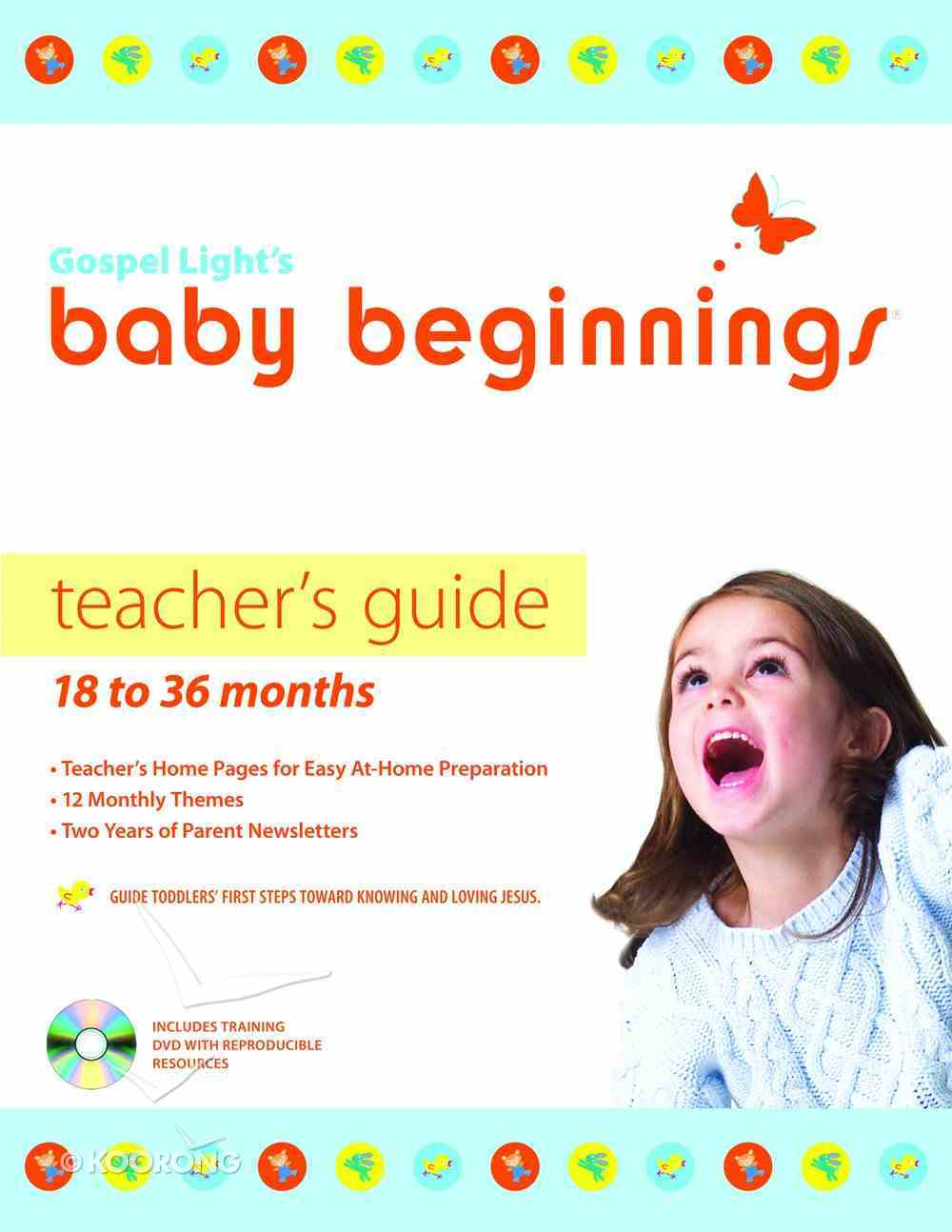 Baby Beginnings: Teacher's Guide With Cd-Rom (18-36 Months) Paperback