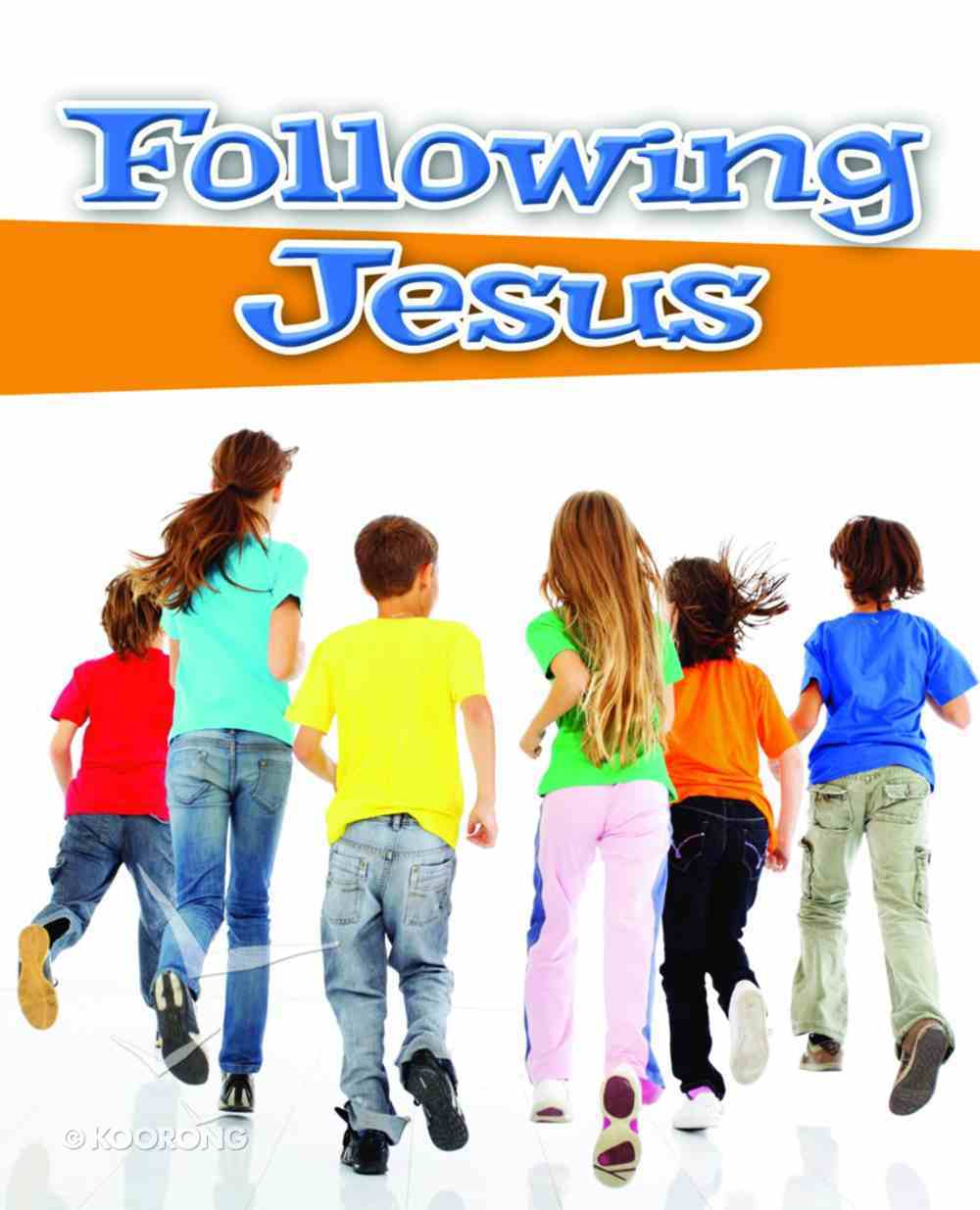 Following Jesus Booklet (20 Pack) Pack