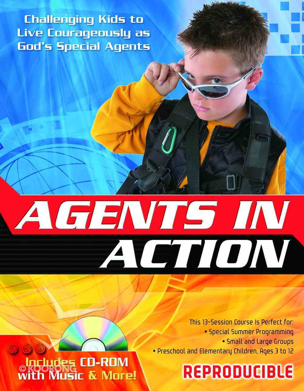 Agents in Action Revised Reproducible (Including Agent Music Cd) Paperback