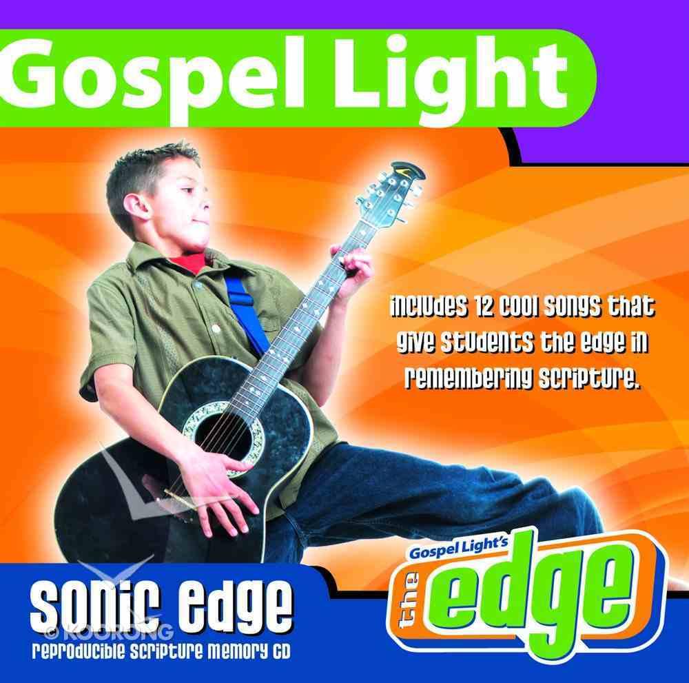 Sonic Edge Volume 1 CD & Musicbook Pack