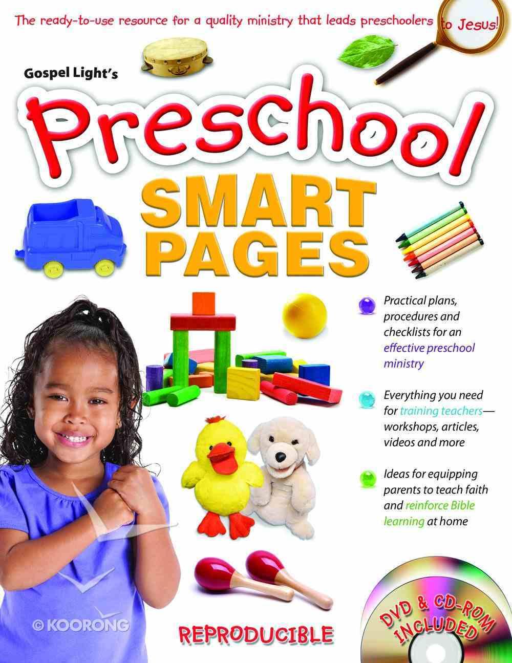 Preschool Smart Pages (Reproducible) Paperback
