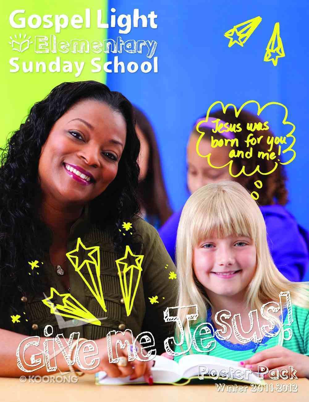 Winter a 2020 Grades 1-4 Poster Pack (Gospel Light Living Word Series) Pack