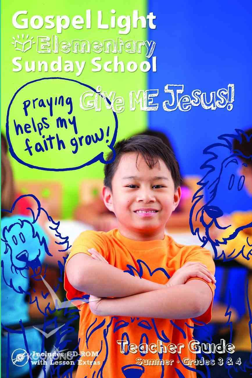 Gllw Summera 2020/2021 Grades 3 & 4 (Teacher Guide) (Gospel Light Living Word Series) Paperback