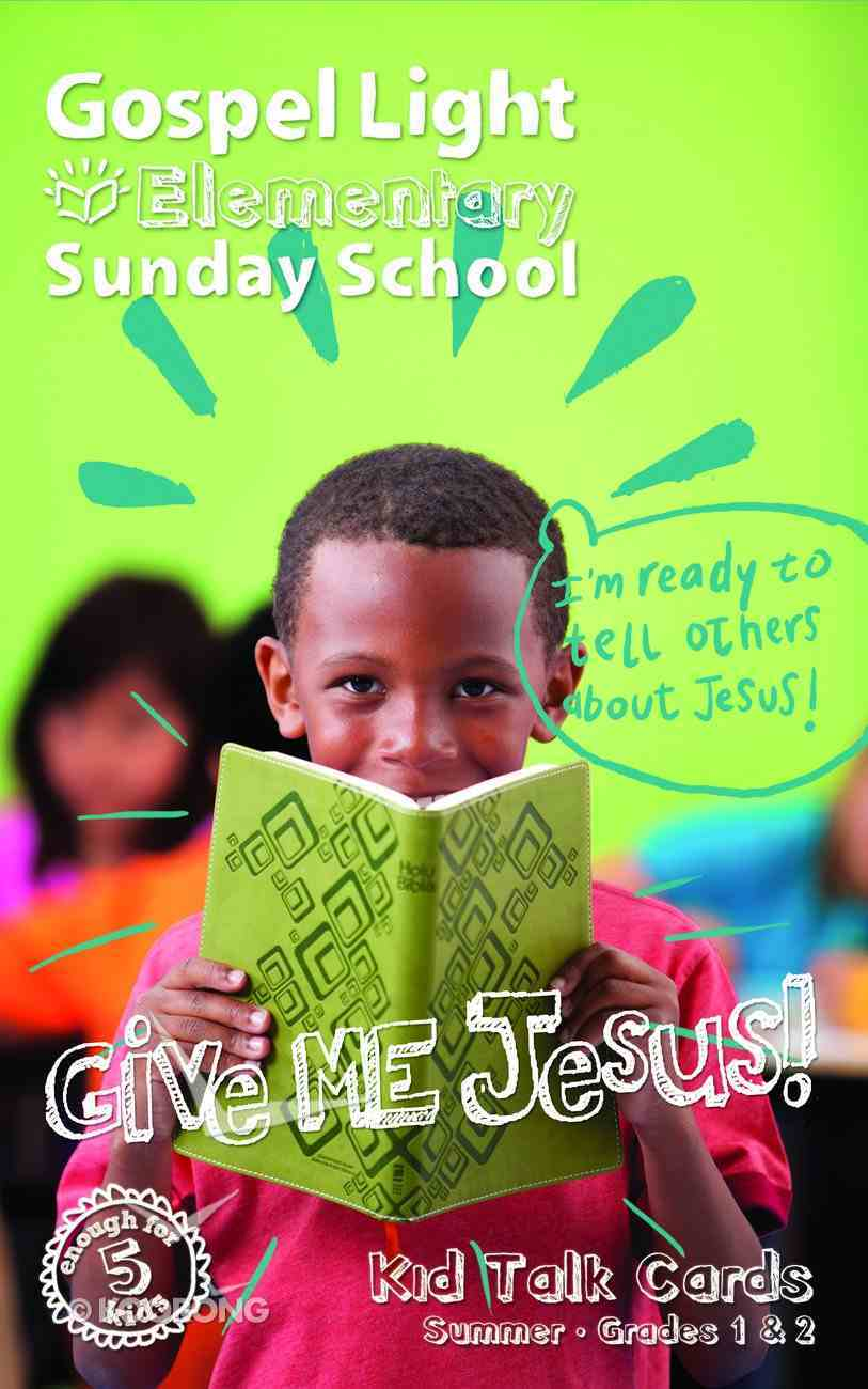 Gllw Summera 2020/2021 Grades 1 &2 (For 5 Students) (Student Talk Cards) (Gospel Light Living Word Series) Paperback