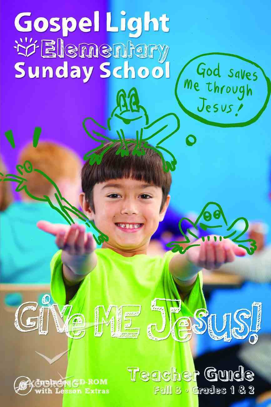 Fall B 2021 Teacher Guide (Grades 1-2) (Gospel Light Living Word Series) Paperback