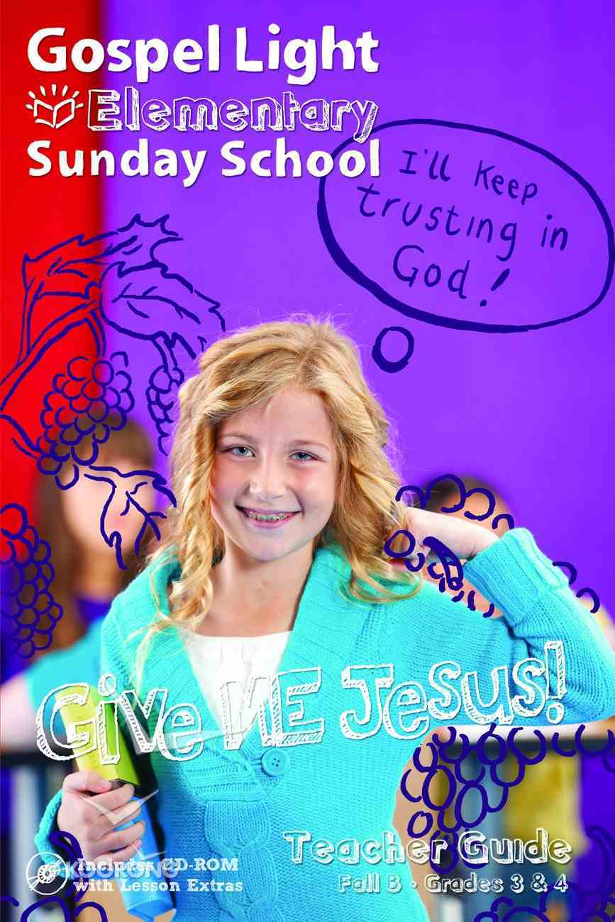 Fall B 2021 Teacher Guide (Grades 3-4) (Gospel Light Living Word Series) Paperback