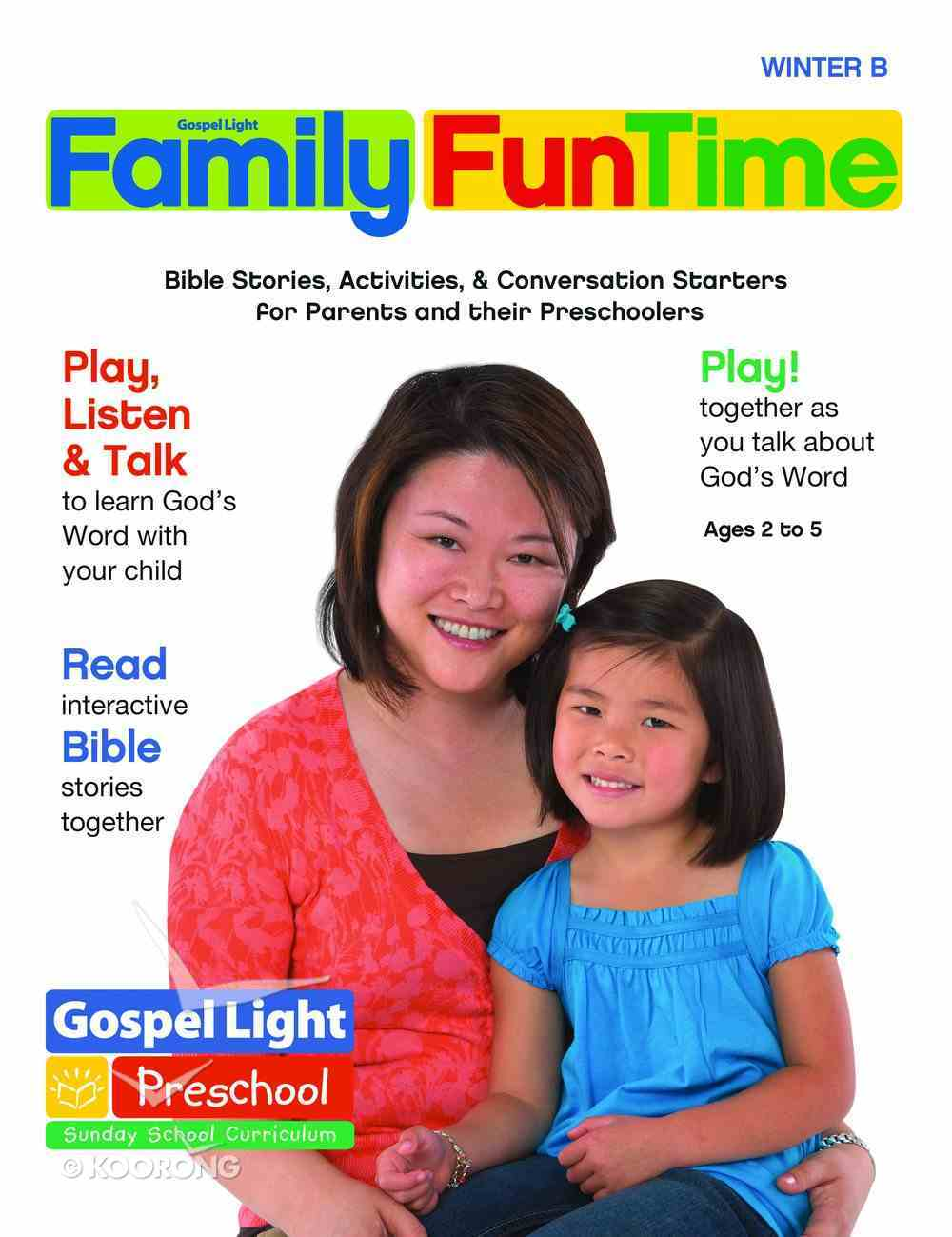 Gllw Winterb 2019 Ages 2/3 4/5 Family Funtime Pages (Gospel Light Living Word Series) Paperback