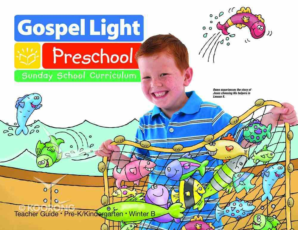 Gllw Winterb 2019 Ages 4/5 Teachers Guide (Gospel Light Living Word Series) Paperback