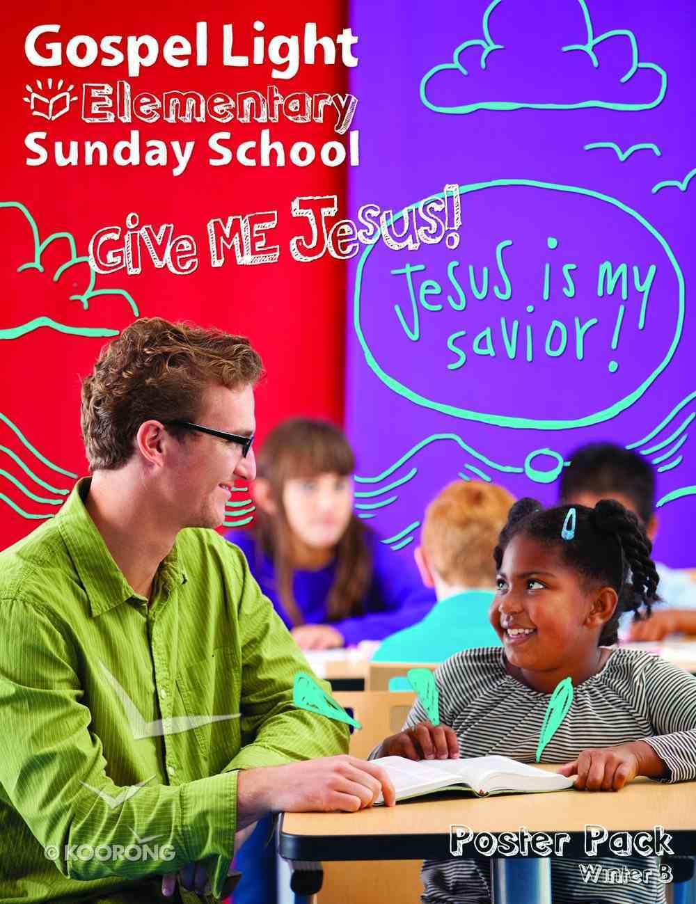 Winter B 2021 Grades 1-4: Bible Teaching Poster Pack (Gospel Light Living Word Series) Pack