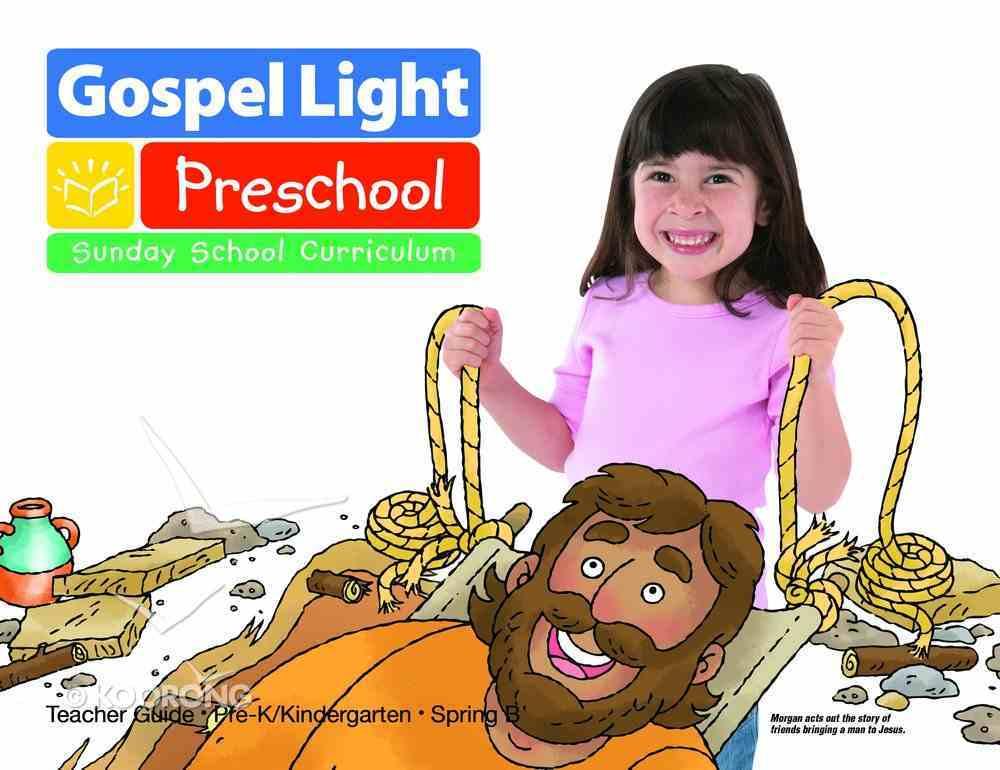 Spring B 2021 Ages 4/5 Teacher Guide (Gospel Light Living Word Series) Paperback