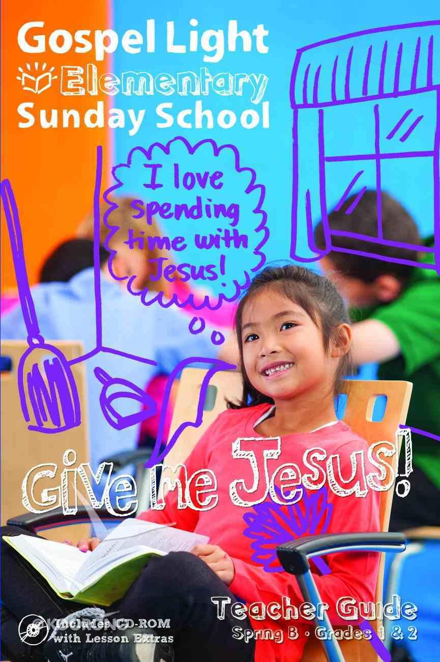 Gllw Springb 2017 Grades 1 & 2 Teacher Guide (Gospel Light Living Word Series) Paperback