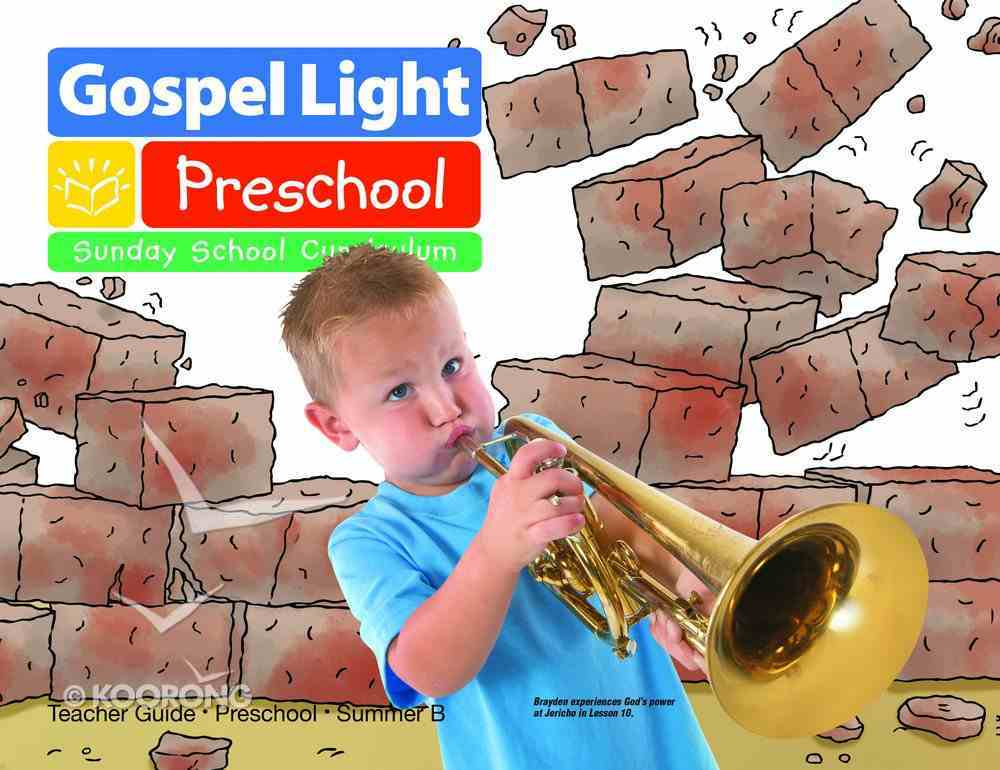Gllw Summerb 2019/2020 Ages 2&3 Teacher Guide (Pre-School) (Gospel Light Living Word Series) Paperback