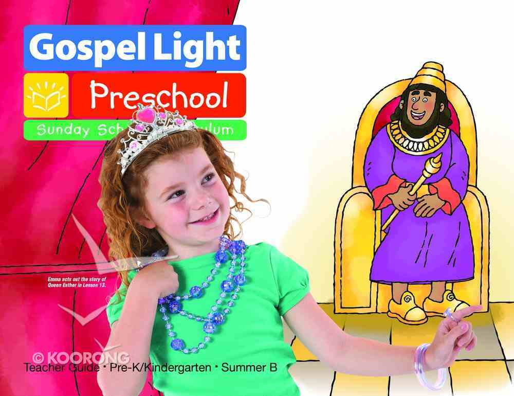 Gllw Summerb 2019/2020 Ages 4&5 Teacher Guide (Gospel Light Living Word Series) Paperback