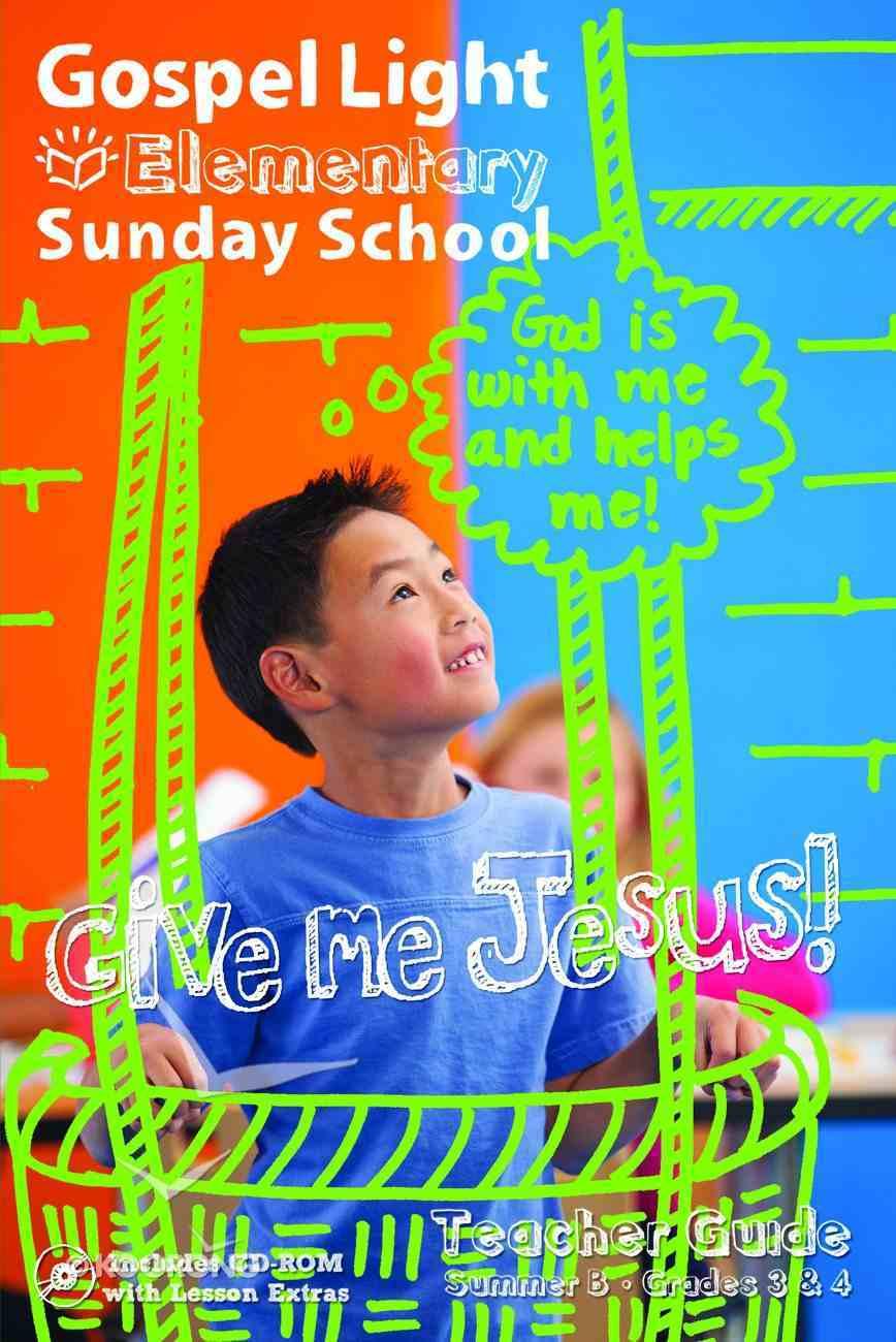 Gllw Summerb 2017 Grades 3&4 Teacher Guide (Gospel Light Living Word Series) Paperback