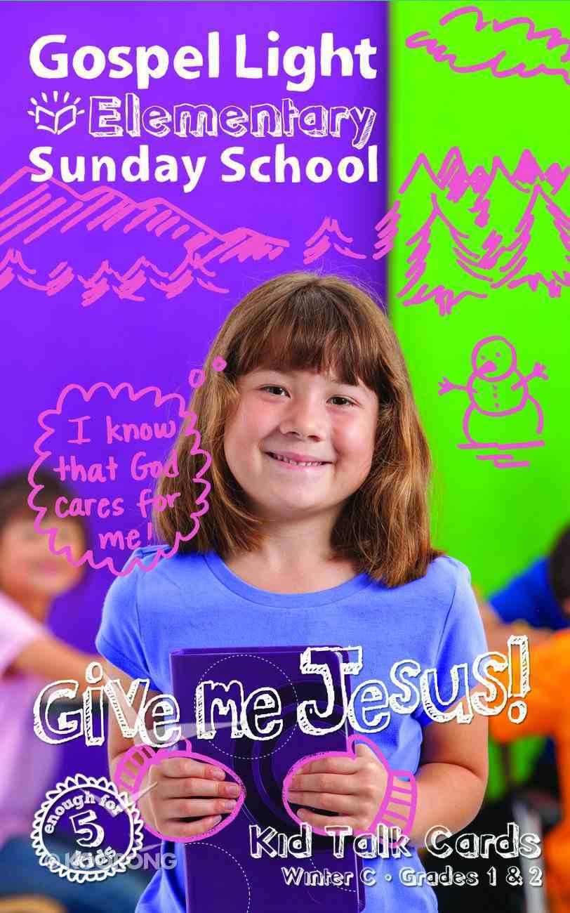 Gllw Winterc 2018 Grades 1&2 Kidtalk Cards (Pack) (Gospel Light Living Word Series) Paperback
