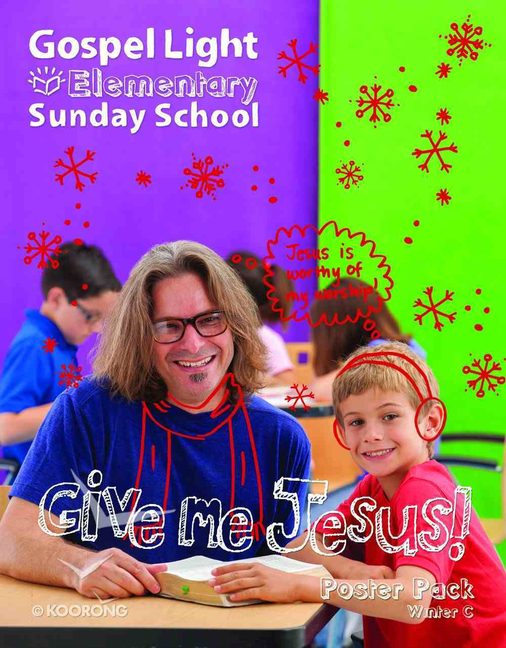 Gllw Winterc 2018 Grades 1-4 Bible Teaching Poster Pack (Gospel Light Living Word Series) Paperback